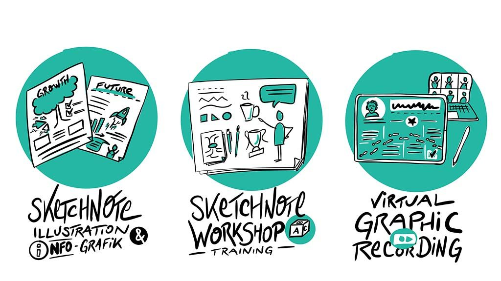 ChristopherHenke.de // Visual Communication // Sketchnotes, Illustrations, Graphic Recording
